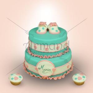 Tort Turquoise Botosei