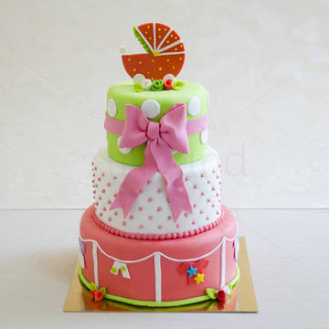 Tort Carucior roz-somon