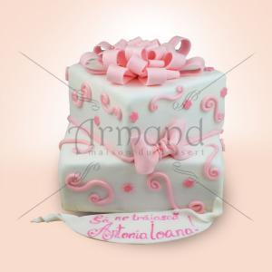 Tort Pampon roz