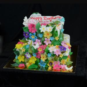 Tort Flori multicolore