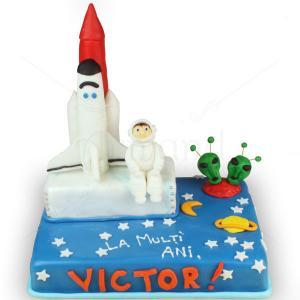 Tort Astronaut si nava spatiala