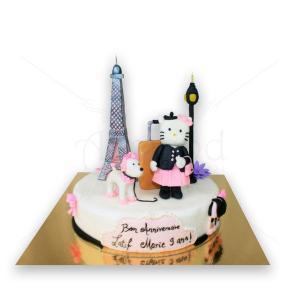 Tort Hello Kitty in Paris