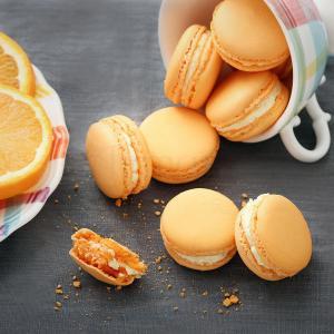 Macaron Portocala