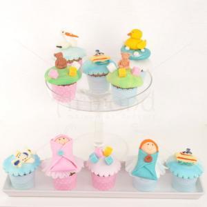 Cupcake Bebelusi Botez