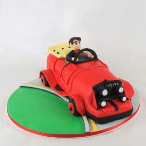 Tort Masina clasica 3D