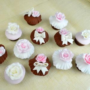 Cupcake-uri Chocolate Pink