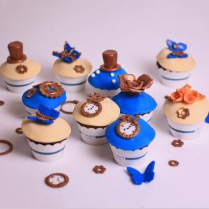 Colectia Cupcake-uri Steampunk