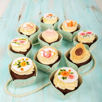 Cupcakes Vintage pictate manual