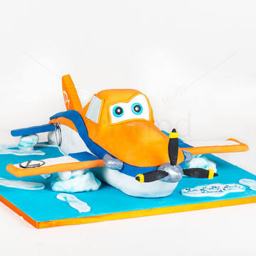 Tort Avionul Dusty 3D