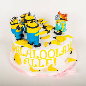 Tort Petrecere Minioni veseli