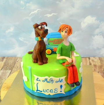 Tort Scooby Doo si Fred