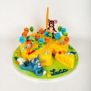 Tort Tom & Jerry petrec