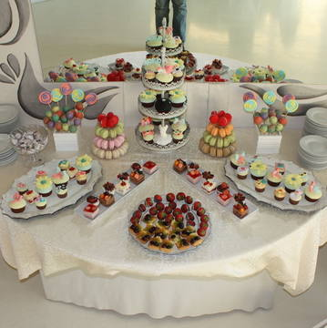 Candy bar botez culori pastelate