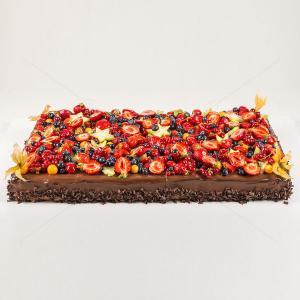 Tort Chocolate Berry dreptunghiular