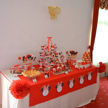 Candy Bar botez Minnie si Mickey Mouse