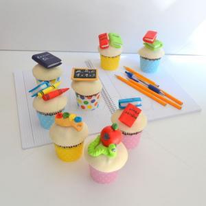 Cupcake-uri Prima zi de scoala