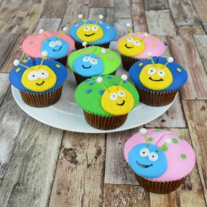 Cupcakes albinute
