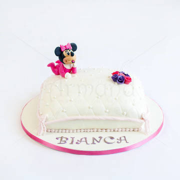 Tort botez Perna Minnie Mouse