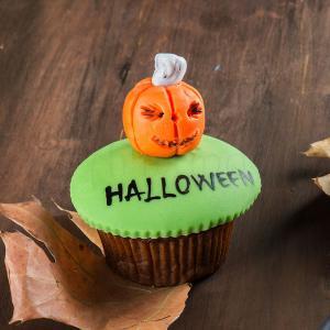 Cupcake dovleac Halloween