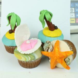 Cupcake La plaja