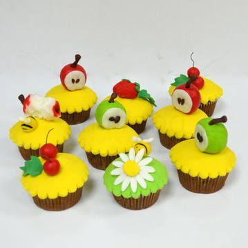 Cupcakes fructe