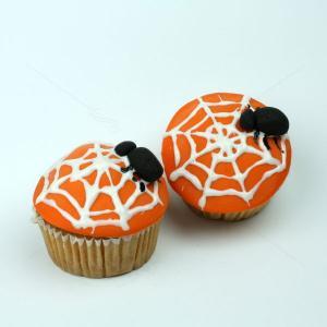 Cupcakes paianjeni Halloween