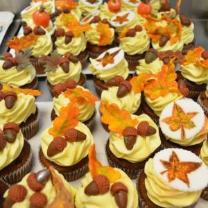 Colectie cupcakes Frunze de toamna