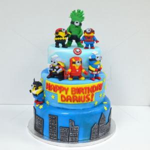 Tort Minions supereroi