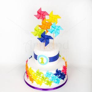 Tort Moristi colorate