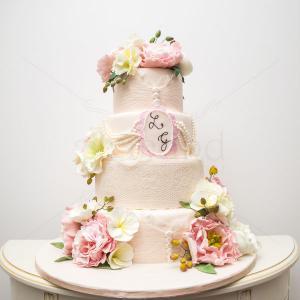 Tort nunta Bujori imperiali