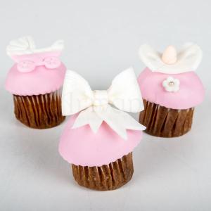 Mini cupcake botez elegant