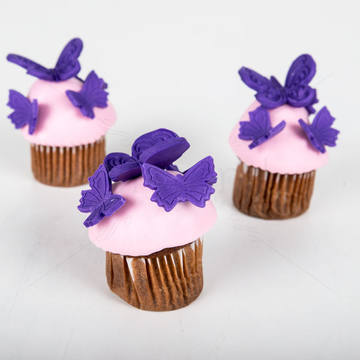 Mini cupcake fluturasi