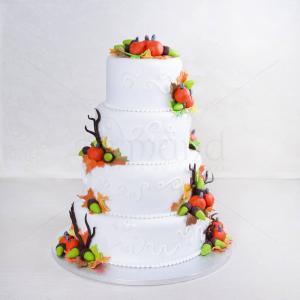 Tort de nunta Toamna
