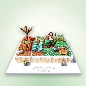 Tort Gradina cu legume
