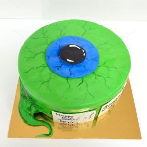 Tort Ochi verde