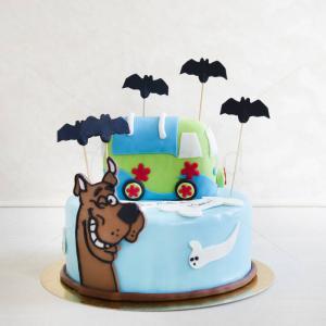 Tort Scooby Doo si liliecii