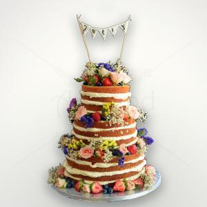 Naked cake majorat