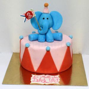 Tort Elefantel