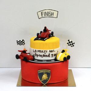 Tort Masini curse Lamborghini