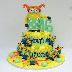 Tort Minion fetita