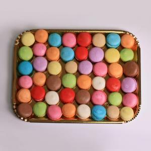 Platou aniversar Macaron mixt