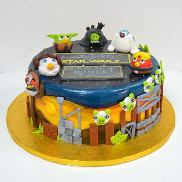 Tort Angry Birds Star wars