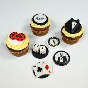 Cupcakes James Bond