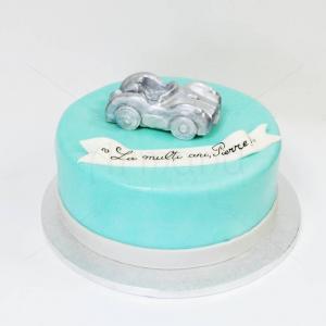 Tort Masinuta argintie