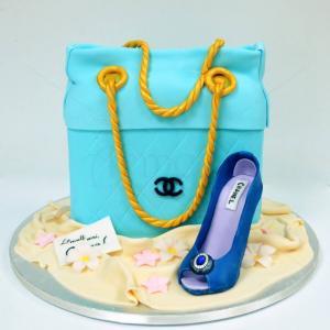 Tort Geanta Bleu