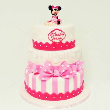 Tort Minnie Mouse si bebelusul