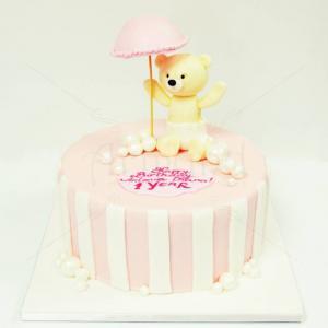 Tort Ursulet sub umbreluta