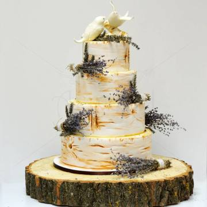 Tort Scoarta de copac si Lavanda