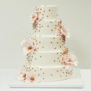 Tort nunta Flori diafane