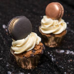 Cupcake Elegant Macaron